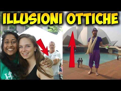10 illusioni ottiche davvero incredibili