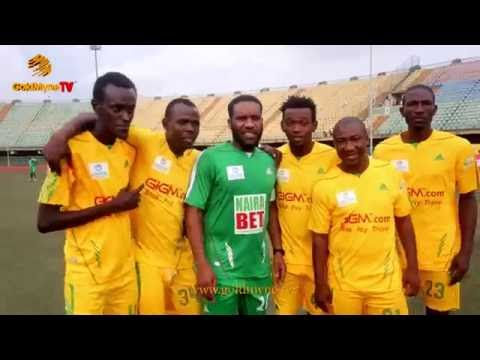 """JAY JAY OKOCHA, KANU NWANKWO, YOBO, AY, AKPORORO AT"""" A TRIP TO JAMAICA NOVELTY FOOTBALL MATCH"""