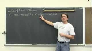 De Moivre's Theorem Powers Of Polar Complex Numbers