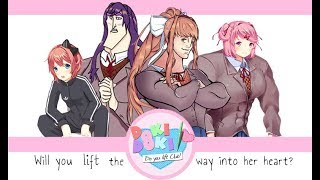 Doki Doki Do You Lift Club Part 4  | A Day With Buffsuki