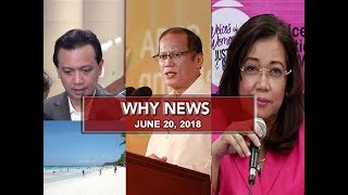 Video UNTV: Why News (June 20, 2018) MP3, 3GP, MP4, WEBM, AVI, FLV Juli 2018