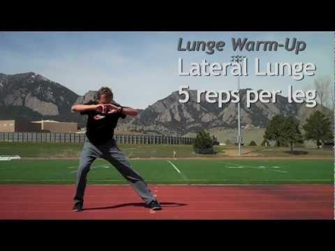 Lunge Warm Up