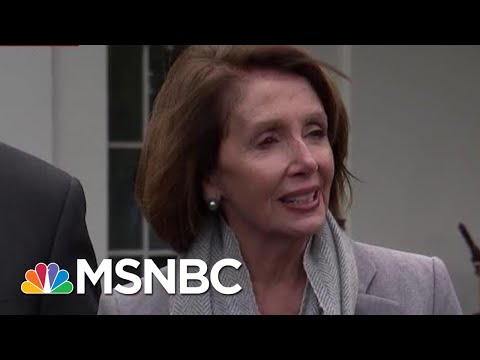 Now Forced To Negotiate, President Donald Trump Shows How He Does It | Morning Joe | MSNBC