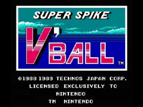 Super Spike V' Ball NES