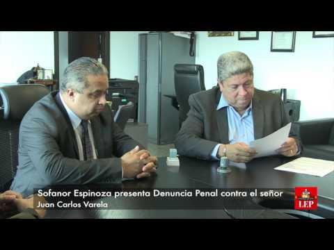 Denuncia penal contra Varela llega a la Asamblea Nacional