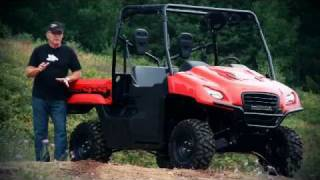 3. 2011 Honda Big Red SXS Test Ride