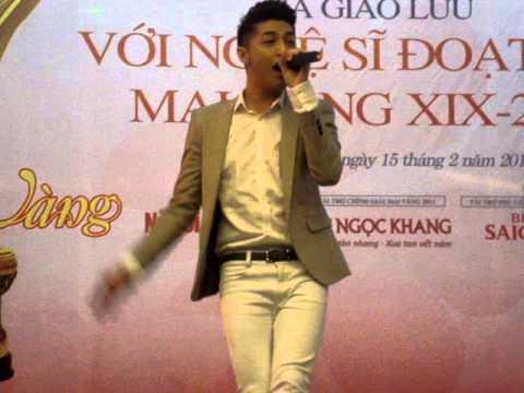Fancam Noo Phước Thịnh  giao lưu mai vàng Feb 15 2014