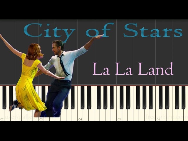 la la land ost city of stars piano tutorial slow. Black Bedroom Furniture Sets. Home Design Ideas