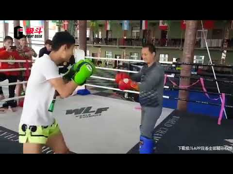 太极大师挑战泰拳选手 Tai chi Master challenging Muaythai fighter, again.