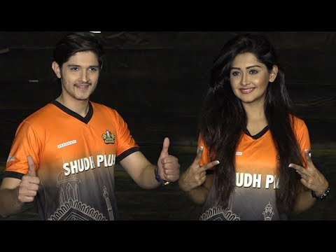 Kanchi Singh & Rohan Mehra at the Box Cricket Leag