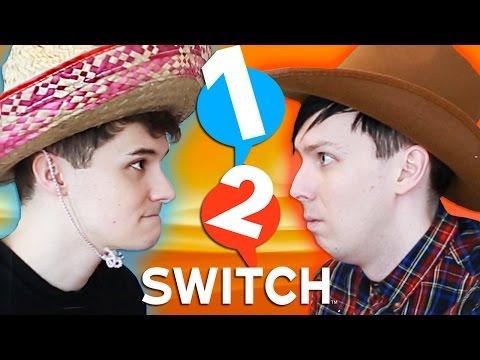 1-2-Switch - DAN vs. PHIL!