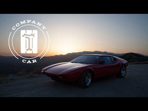1972 De Tomaso Pantera: The Company Car Of Our V8 Dreams (видео)