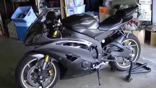 9. 2014 Yamaha R6 walk around with new upgrades
