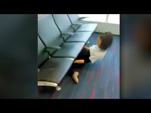 Limbo display at airport drops jaws