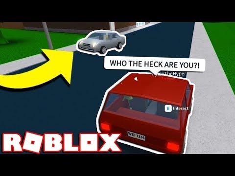 a stalker is following us... (Roblox Bloxburg Roleplay)