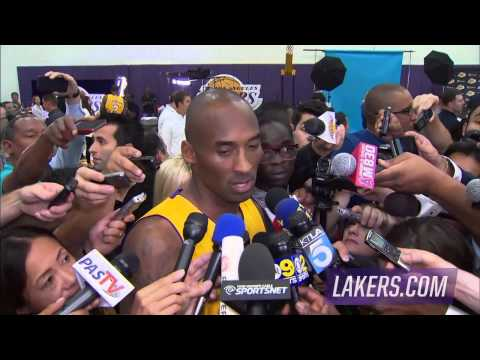 Video: Kobe Bryant Sounds Off On The Upcoming Season!