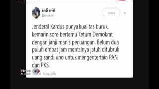 Video Ditubruk Uang Sandiaga Uno, Wasekjen Demokrat Sebut Prabowo Jenderal Kardus - iNews Malam 08/08 MP3, 3GP, MP4, WEBM, AVI, FLV Mei 2019
