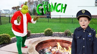 Video Christmas Grinch takes presents from silly kids video MP3, 3GP, MP4, WEBM, AVI, FLV April 2018