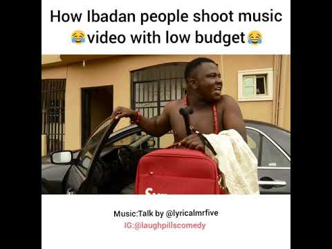 Shooting a low budget music video in Ibadan (LaughPillsComedy)