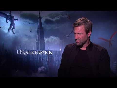 """I, Frankenstein: Aaron Eckhart """"Adam""""Official Movie Interview"""