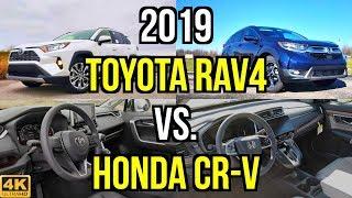 Video ULTIMATE CUV -- 2019 Toyota RAV4 Limited vs. 2019 Honda CR-V Touring: Comparison MP3, 3GP, MP4, WEBM, AVI, FLV Februari 2019