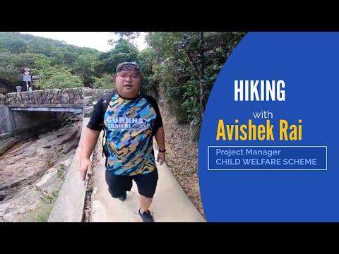 (Walking with Avishek Rai - Duration: 8 minutes, 1 second.)