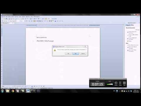 Video 0 de Kingsoft Office Suite: Primeros pasos con Kingsoft Office