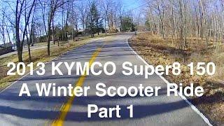 7. Super8 150 - A Winter Scooter Ride