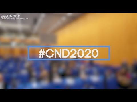 Commission on Narcotic Drugs 2-6 March 2020