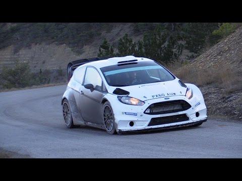 Test Rallye Monte Carlo 2015 Ott Tänak Ford WRC