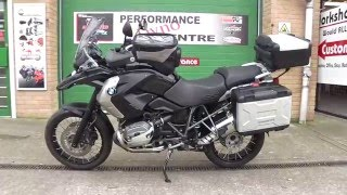 8. 2012 BMW R 1200  GS Triple Black Fully loaded