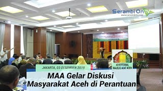 Majelis Adat Aceh Gelar Diskusi Penguatan Nilai-Nilai Adat Bersama Masyarakat Aceh di Perantauan