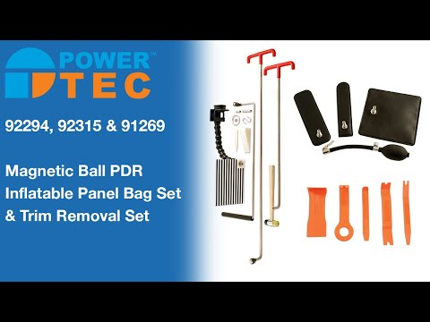 Power-TEC Magnetic Roller Tip Panel Repair Kit