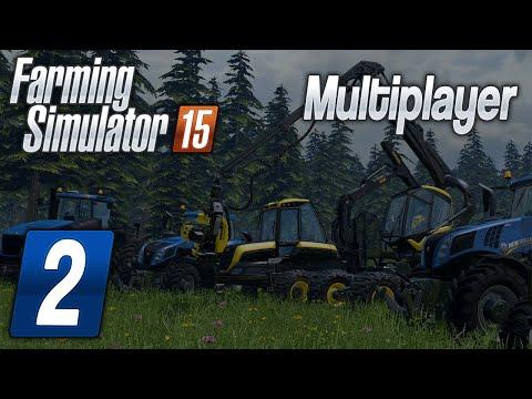 Zagrajmy w Farming Simulator 2015 na multiplayer #2 - Piła i wierzba nie żyła... :D