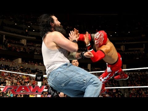 Feb. 17, 2014, Sin Cara & Los Matadores vs. Bray Wyatt & The Wyatt Family: Raw
