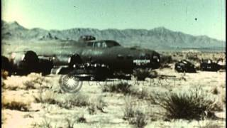 Pueblo (CO) United States  city photos gallery : Crashed United States B-17 bomber near Pueblo Army Air Force base in Colorado. HD Stock Footage