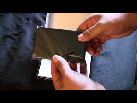 SABRENT 2.5'' SATA HARD DRIVE USB 3.0 ALUMINUM ENCLOSURE Unboxing and Overview First Look