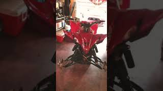 10. Leo's 2019 Yamaha YFZ450R about to get those upgrades