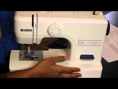 Sewing Machine - Buy this machine here now: http://bit.ly/VHwwWi In this video I answer the MOST common question I am asked: