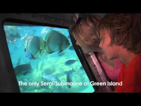 Big Cat's Exclusive Semi Submarine tour at Green Island