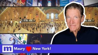 Maury  ❤️ New York! | The Maury Show