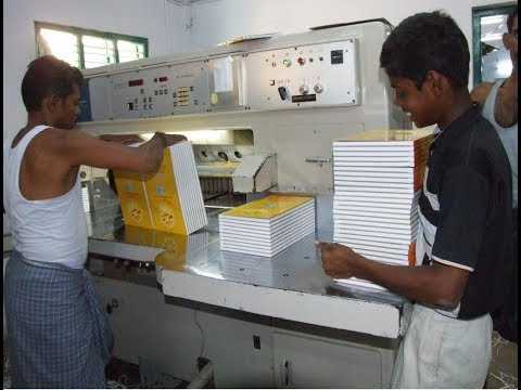 Exercise notebook making machine in india || Notebook Copy Making Business machine india 2020
