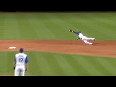 Video: Orlando Hudson lays out for incredible diving stop
