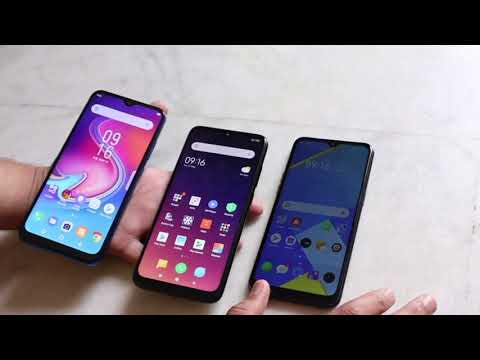 Infinix S4 Vs Redmi Note 7S Vs Realme C2: Unboxing | Hands-on | Comparison [Hindi-हिन्दी]
