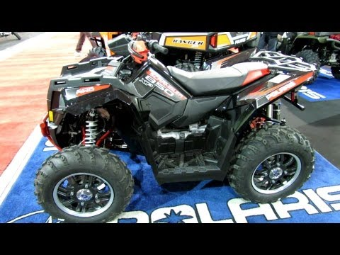 2013 Polaris Scrambler 850XP Sport Utility ATV - 2012 Salon National du Quad - Laval, Quebec, Canada
