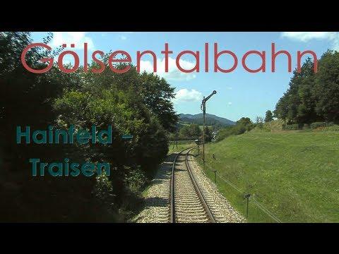 Führerstandsmitfahrt Gölsentalbahn Hainfeld - Traisen [HD] - Cab Ride