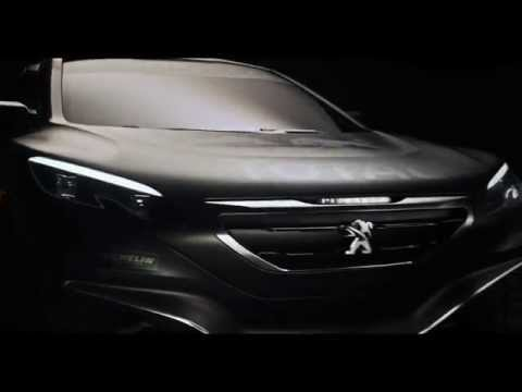 Peugeot Reveals New Car for 2015 Dakar Rally