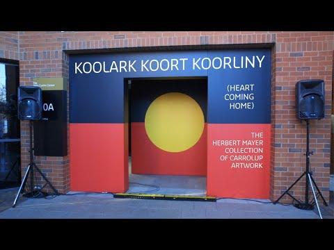 Koolark Koort Koorliny (Heart Coming Home) Speeches 2013