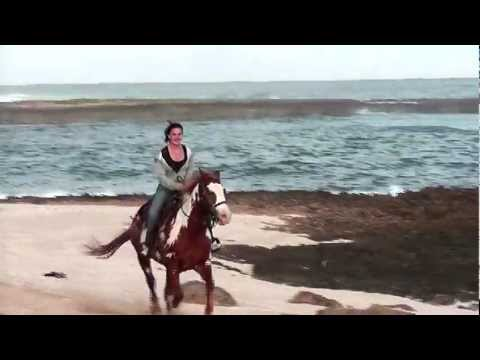 Riding on the beach in Hawaii!!