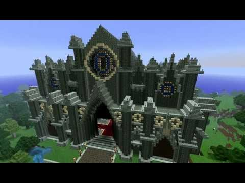 Minecraft Cathedral Megabuild - By GNRfrancis